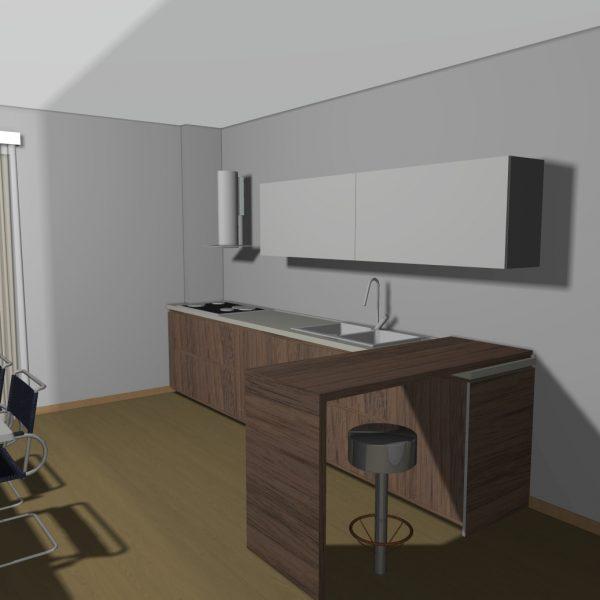 Progetto appartamento Monteforte (AV)