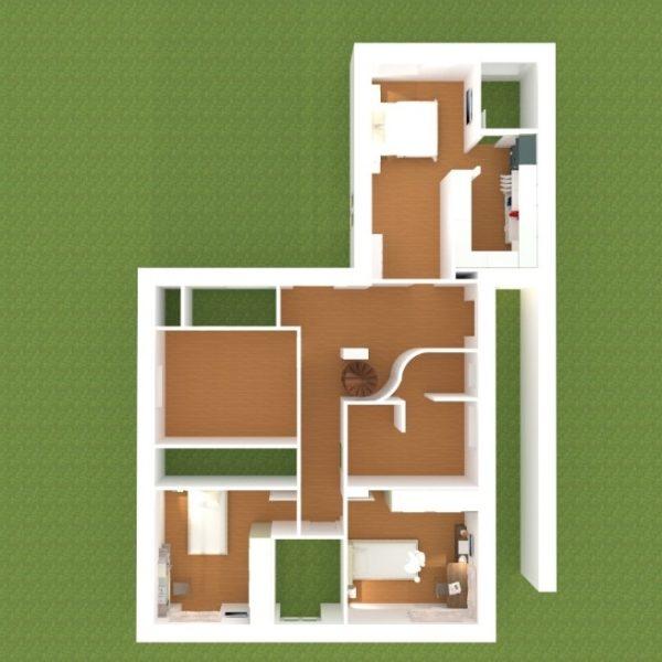 pianta 2° piano villa villamaina progetto