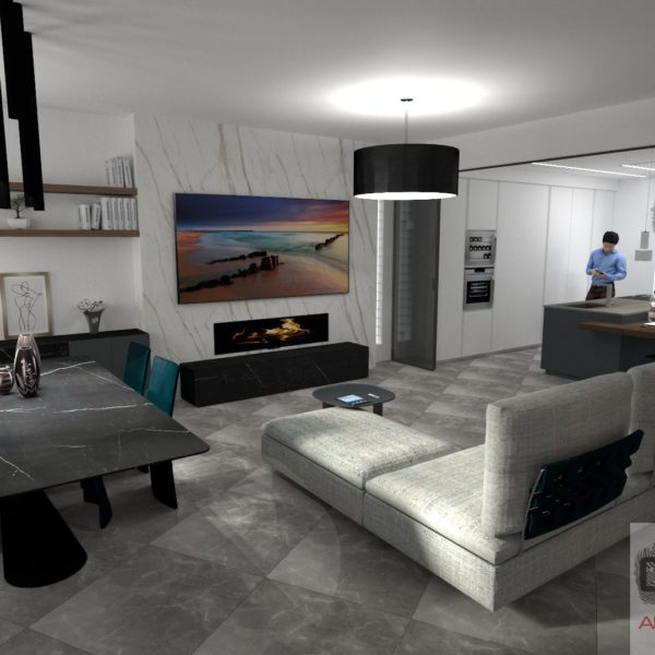 Progetto villa Napoli