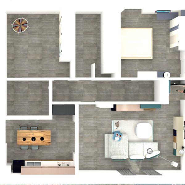 Progetto Arredamento casa G.A. Monteforte Irpino