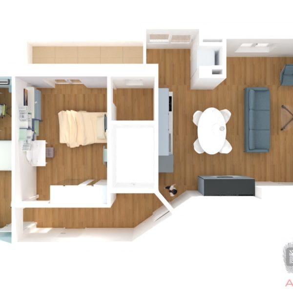 Progetto Arredamento appartamento F. Avellino