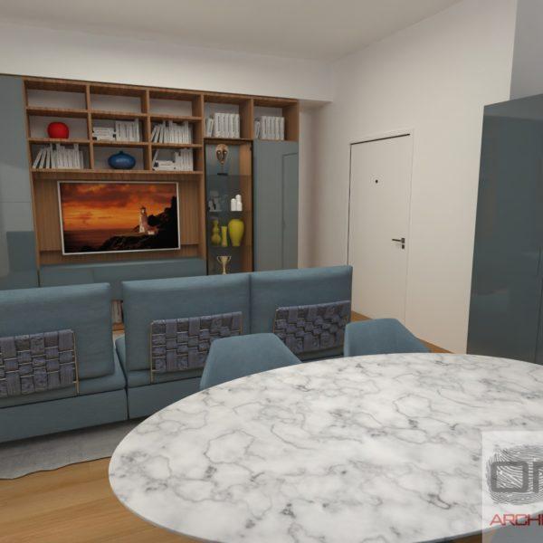 Progetto Arredamento appartamento Avellino