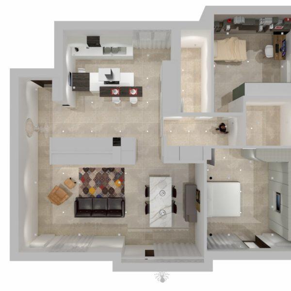 Progetto Arredamento casa F.M. Avellino