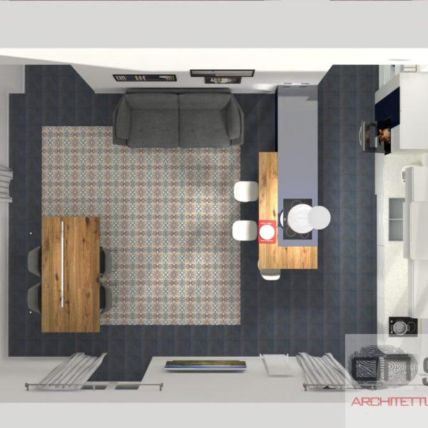 Progetto Cucina Appartamento M. Napoli