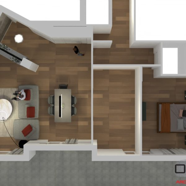 Progetto Arredamento Appartamento T. Avellino