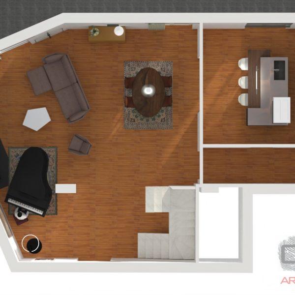 Progetto Arredamento Appartamento Tr. Avellino